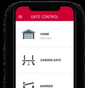Gate Control Mobile App